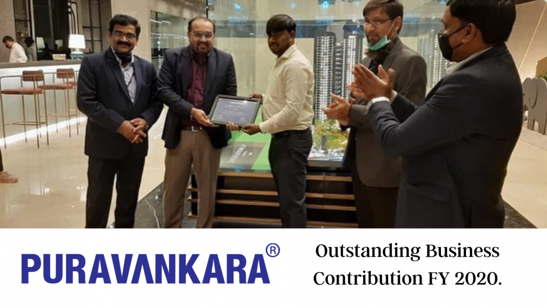 Pyravankara Outstanding Business Contribution and Collaboration FY 2020