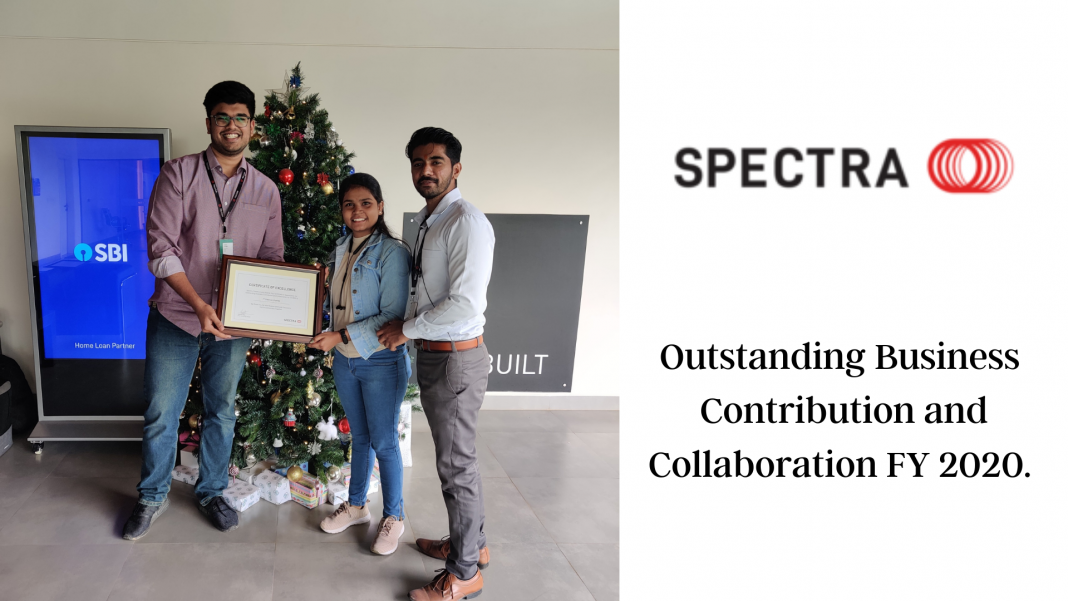 Spectra Outstanding Business Contribution and Collaboration FY 2020