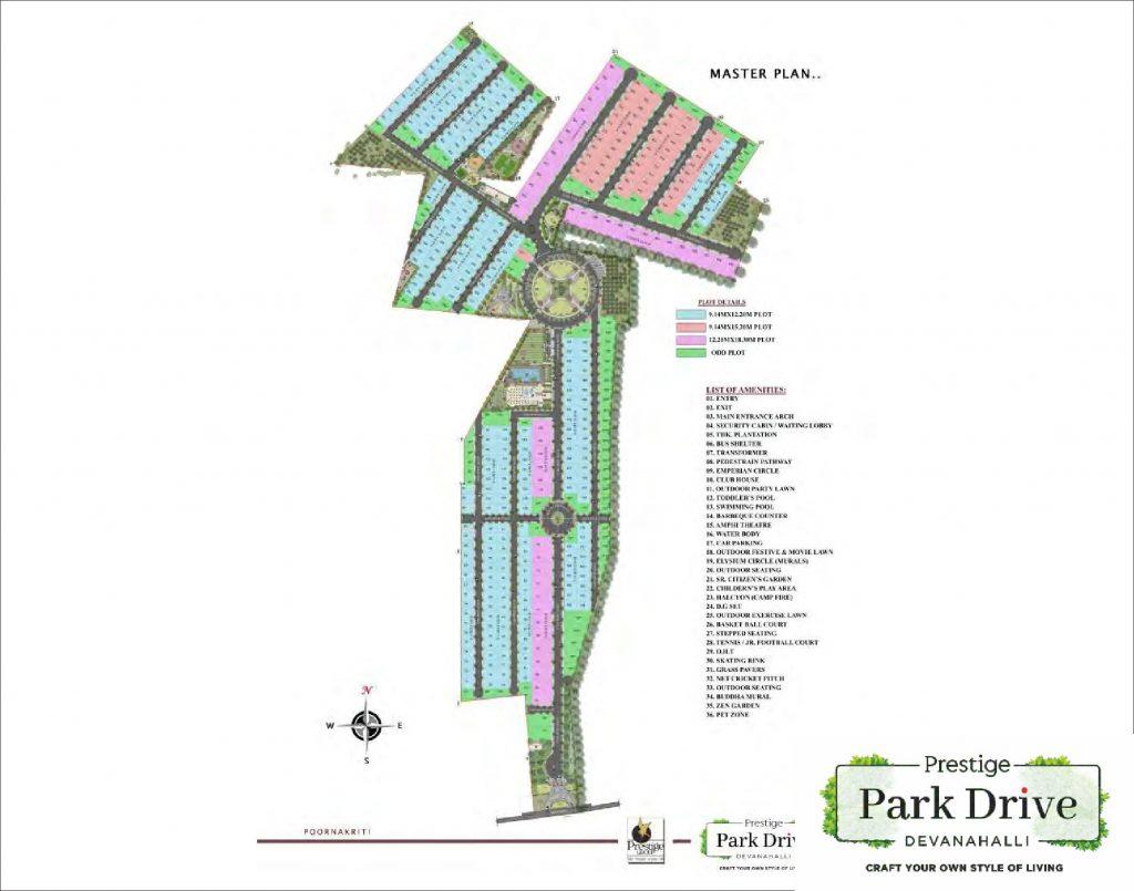 Prestige-Park-Drive-Devanahalli-Bangalore-Image-Master-Plan