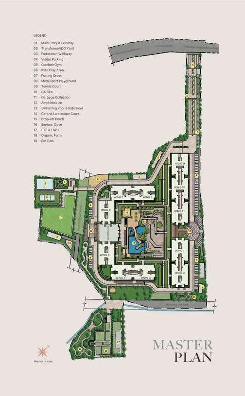 Sobha-Windsor-in Whitefield-Bangalore-Image-Master-Plan