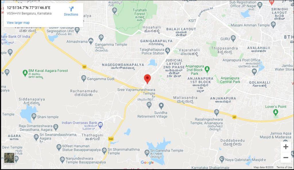 total-environment-magic-faraway-tree-kanakapura-road-bangalore-location-map