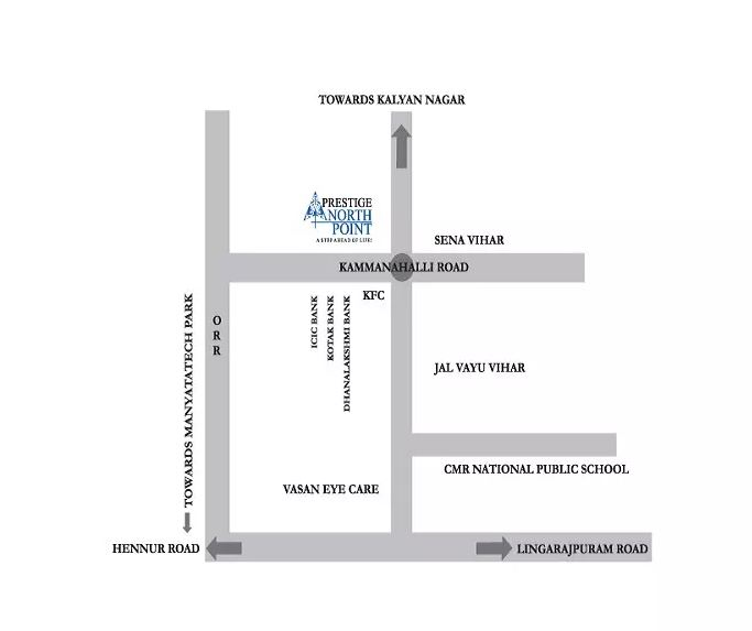 prestige-north-point-Apartment-in-Kommanahall-Bangalore-Image-Location-Map