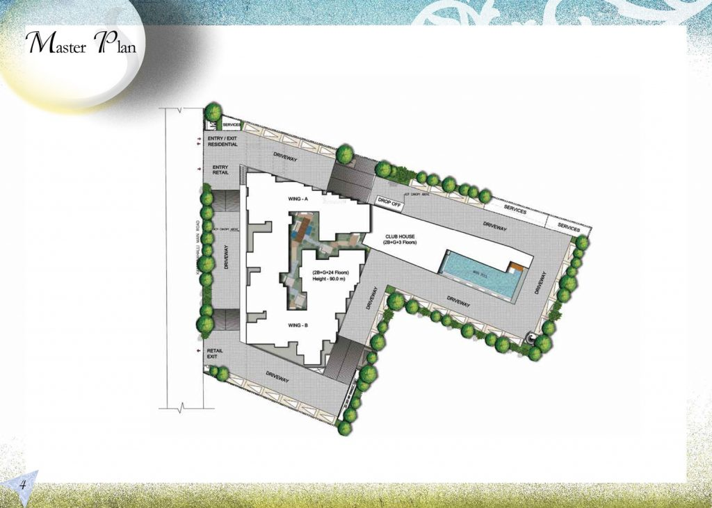 prestige-north-point-Apartment-in-Kommanahall-Bangalore-Image-Master-Plan