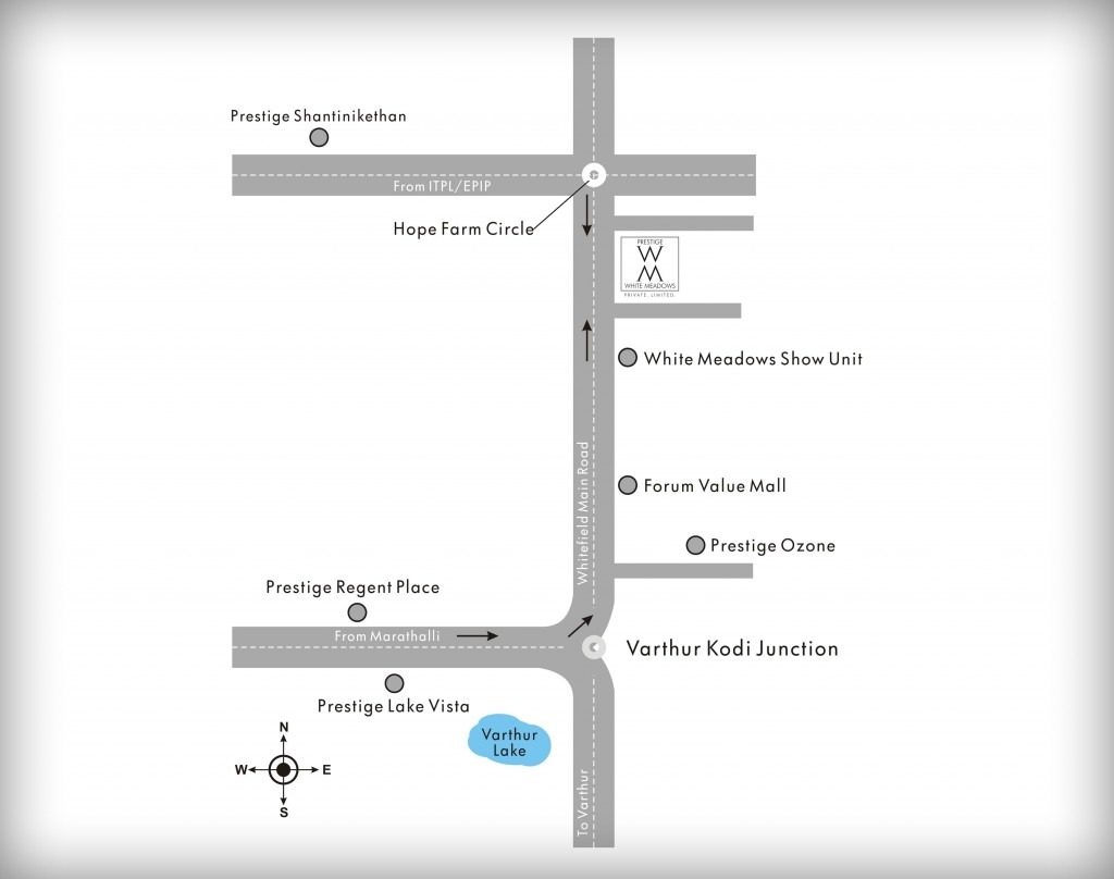 prestige-white-meadows-Villas-in- Whitefield-Bangalore-Image-Location-Map