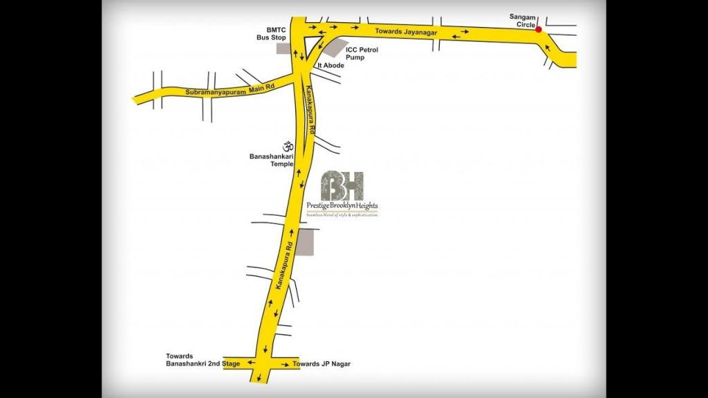 Prestige-Brooklyn-Heights-Apartment-in-JP-Nagar-Location-Map