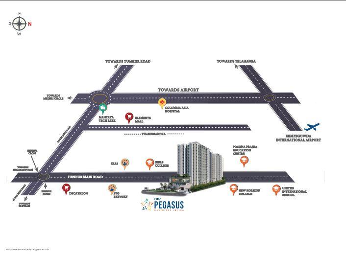 Pride-Pegasus-in-Hennur-Road-Bangalore-Image-Location-Map
