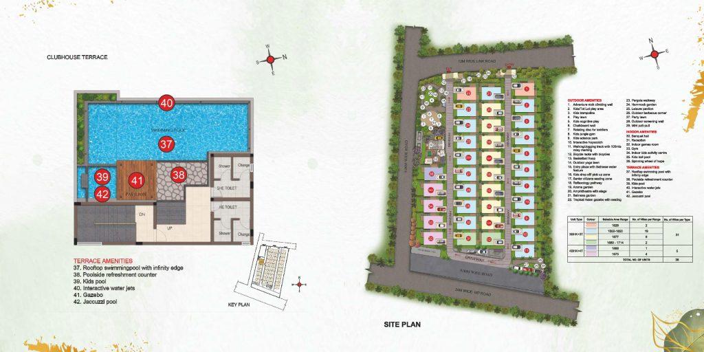 casagrand-florella-vilas-in-sarjapur-road-bangalore-master-plan