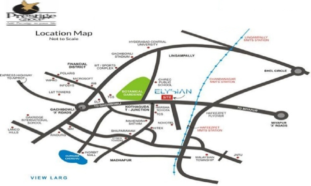 prestige-elysian-Apartment-in -Bannerghatta-Bangalore-Image-Location-Map