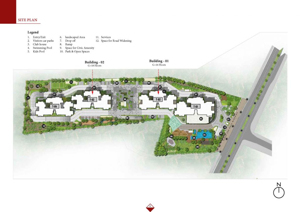 prestige-elysian-Apartment-in -Bannerghatta-Bangalore-Image-Master-Plan