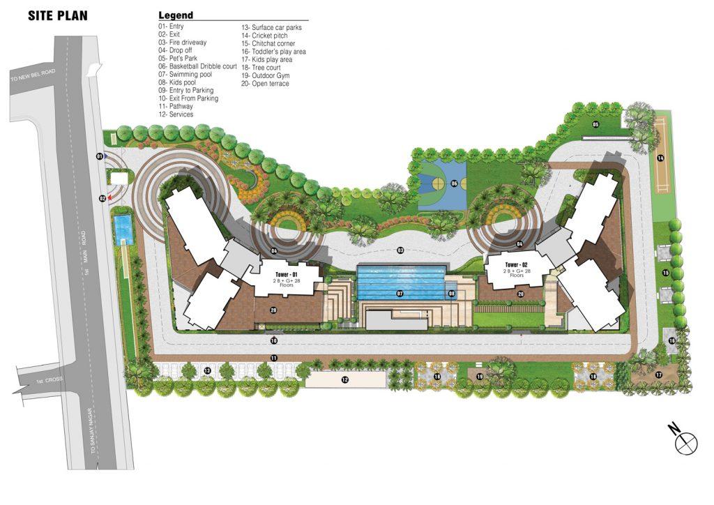 prestige-fairfield-Apartment-in-Dollars-colony-Sanjay-Nagar-Bangalore-Image-Master-Plan