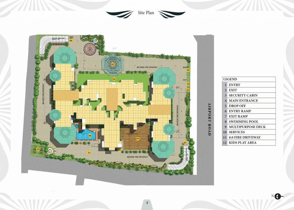 prestige-leela-residences-Apartment-in-Kodihalli-Bangalore-Image-Master-Plan