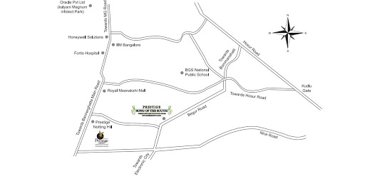 prestige-song-of-the-south-Apartment-in-yelenahalli-Bangalore-Image-Location-Map