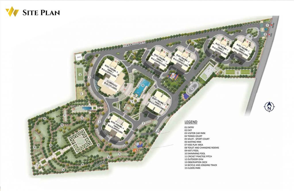 prestige-waterford-Apartment-in-Whitefield-Bangalore-Image-Master-Plan