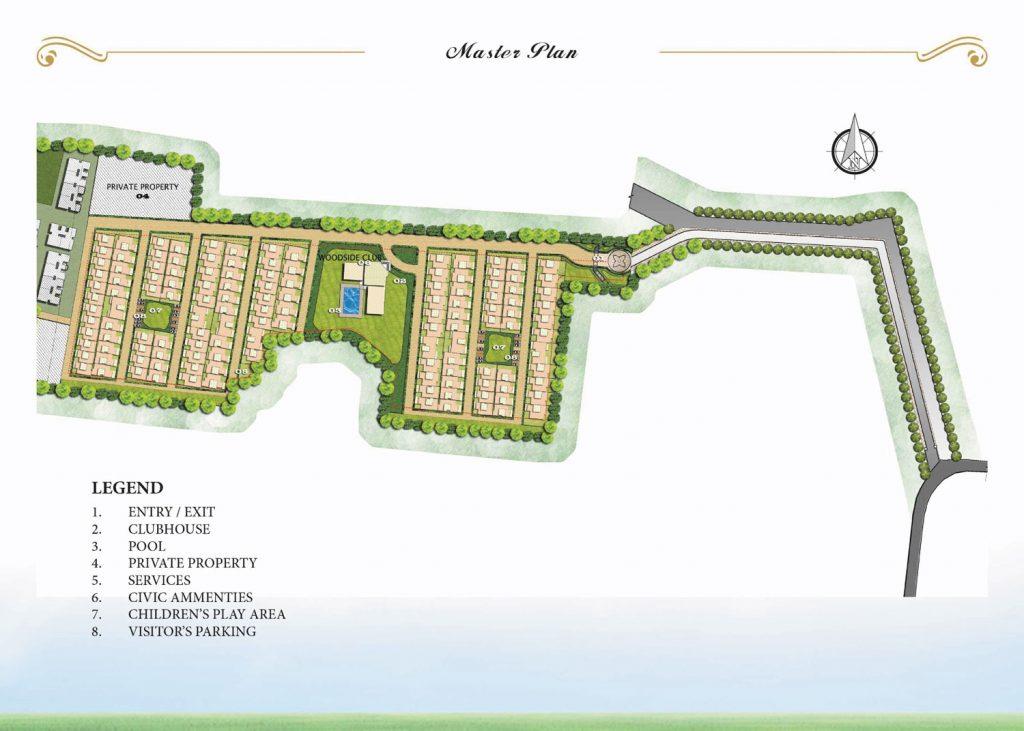 prestige-woodside-Villas-in-Yelahanka-Bangalore-Image-Master-Plan