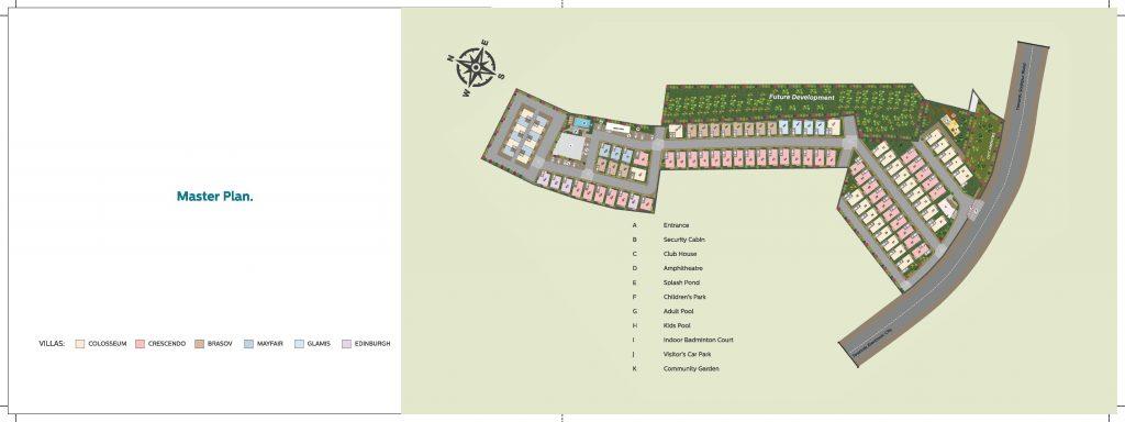 42-estates-mark-one-villas-in-sarjapur-bangalore-master-plan