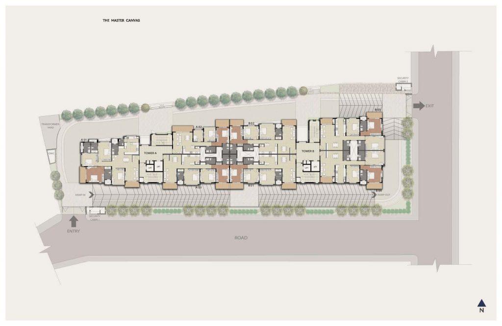 Dnr-Springleaf-Koramangala-Luxury-Apartments-Bangalore-Master-Plan-1