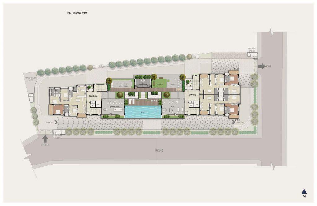 Dnr-Springleaf-Koramangala-Luxury-Apartments-Bangalore-Master-Plan-2
