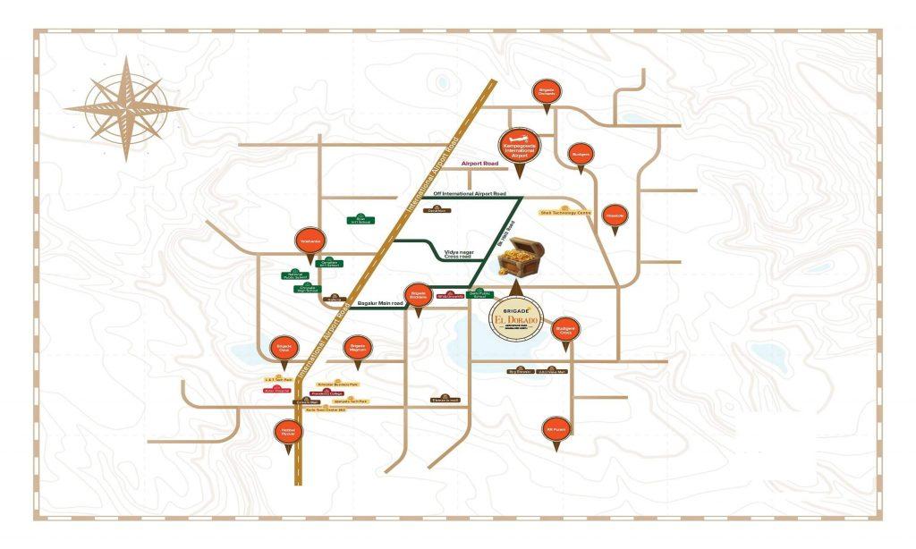 Brigade_El_Dorado_Bagalur_Location_Map