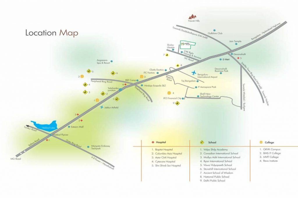 Under-The-Sun-Devanahalli-Location-Map