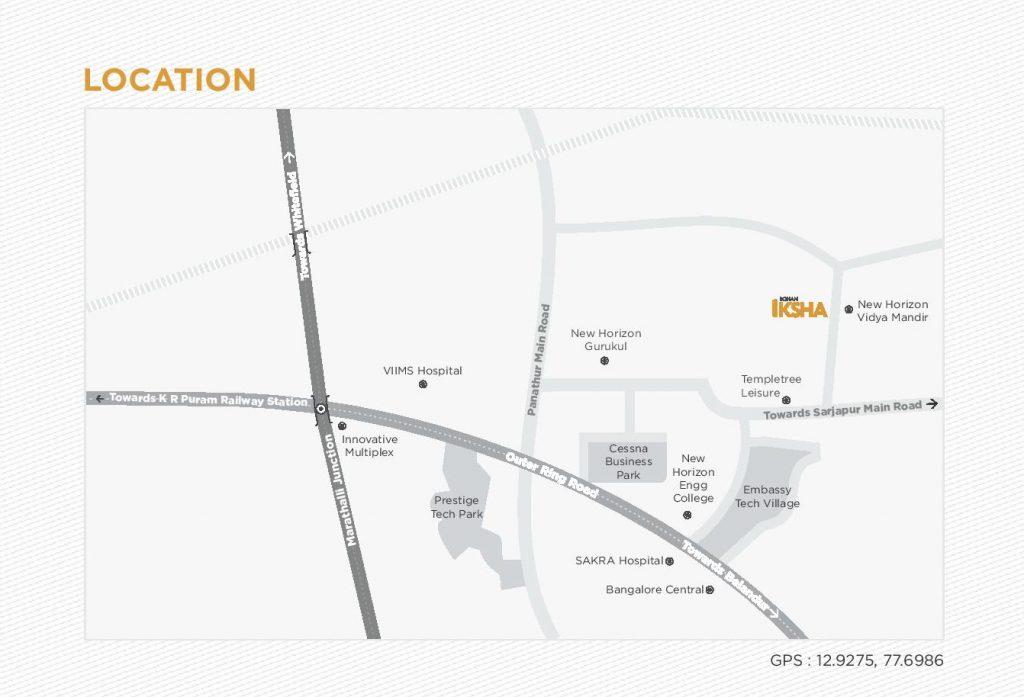 rohan-iksha-location-map