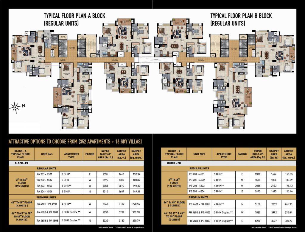 the_presidential_tower_floor_plan