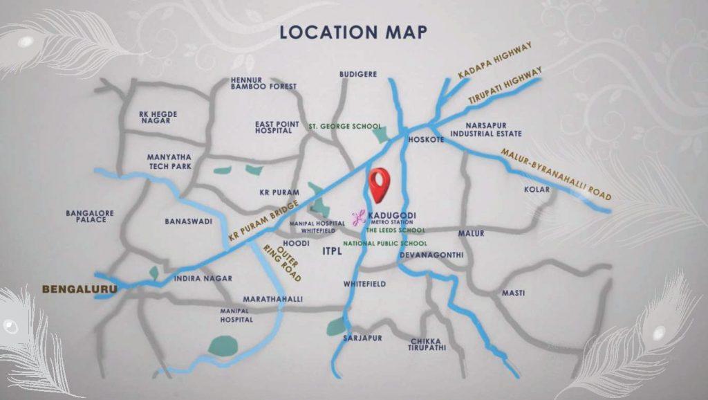 SBR-Gokulam-Location-Map