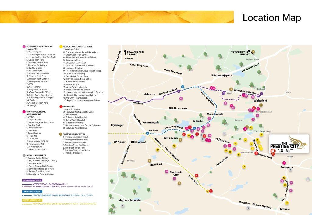 prestige-avalon-park-location-map